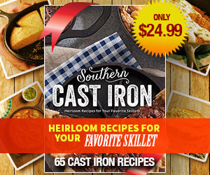 Southern Cast Iron Cookbook. 65 Cast Iron Recipes